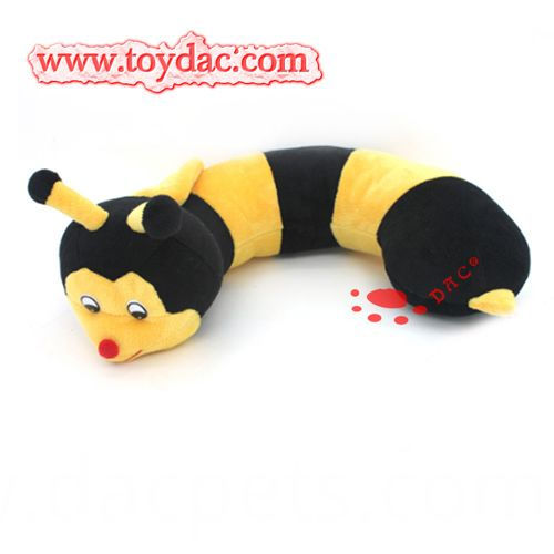 stuffed bee cushion