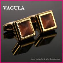 Qualidade VAGULA Catseye francês L52504 de botões de punho