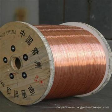 Alambre de acero revestido de cobre del CCS del acero de cable del 0.10mm-4.0mm