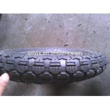rubber wheelbarrow tire 3.50x8