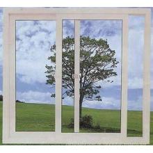 Kundengebundenes PVC-Fenster mit Glas 5 + 12A + 5mm