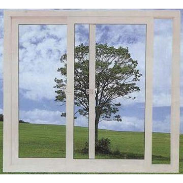 Fenêtre coulissante en PVC avec économie d'énergie