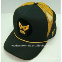 Chapéus do camionista com logotipo da impressão e do bordado
