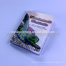 Custom Malbuchdruck mit Sattelheftung