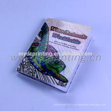Изготовленный на заказ книжное производство расцветки с стежком седловины bindding