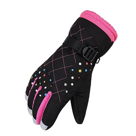 Super warm women hockey games gloves winter