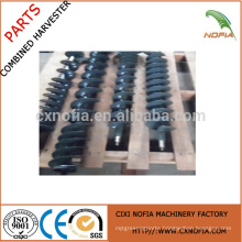 helical auger blade for harvester
