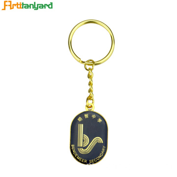 Best Friend Keychains Metal Personalized