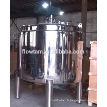 Réservoir de mélange chimique en acier inoxydable de 2000 litres