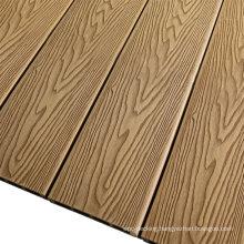 3D Embossed Wood Grain WPC Board Decking Anti-Fade WPC Decking Flooring Wood Plastic Composite Decking Outdoor