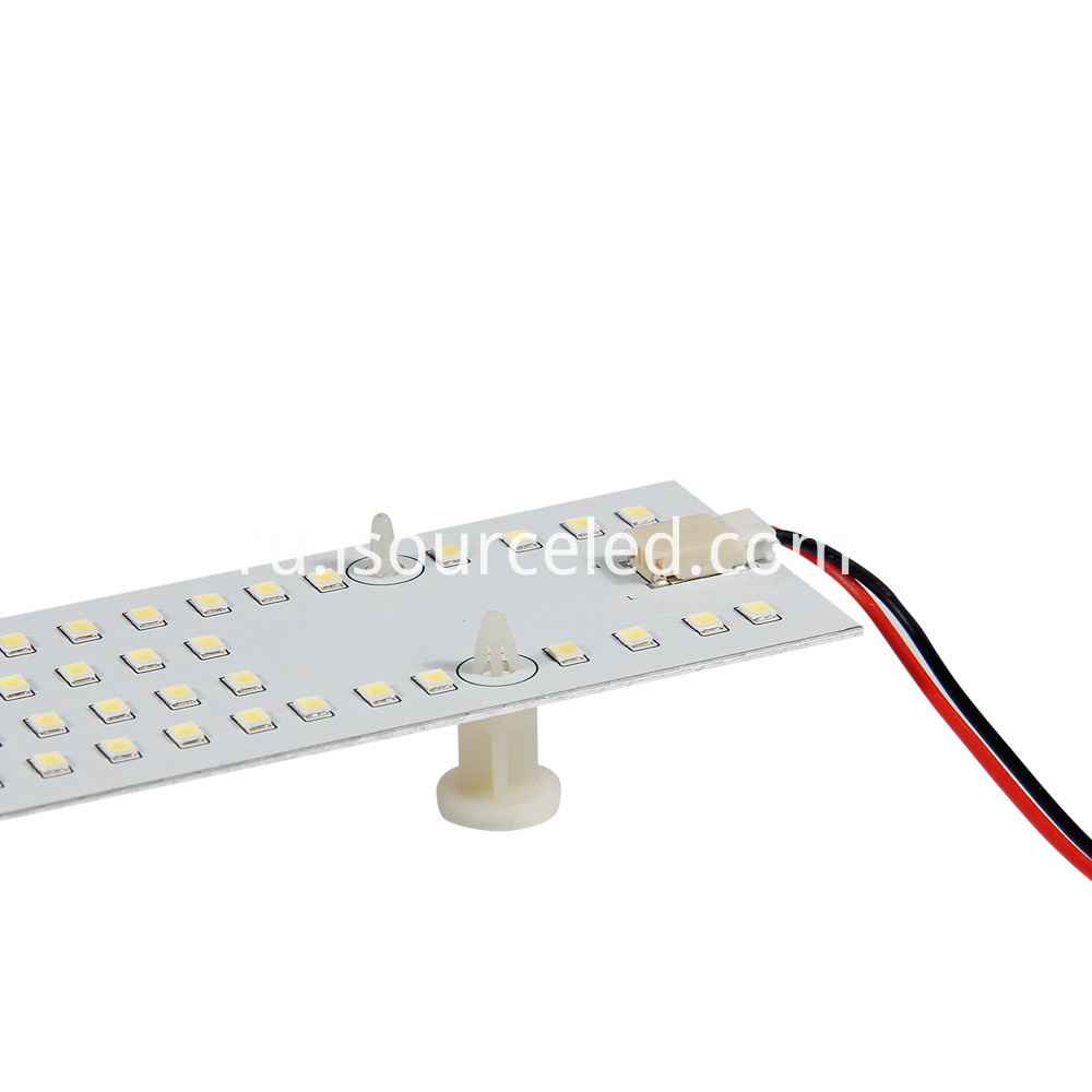 Side picture of Square Customized AC smd 2835 15W Ceiling Module