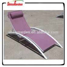 Outdoor Lightweight Folding Beach Sun Bed Chaise Sun Lounger