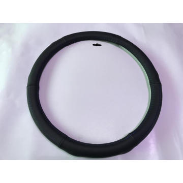 Luxury genuine leather car steering wheel cover