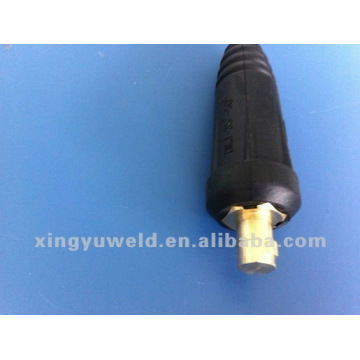 euro dinse welding cable connector