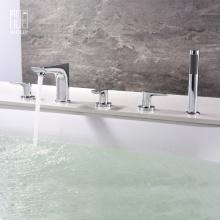 Heißes und kaltes Wasser Kupfer Badewanne Wasserhahn