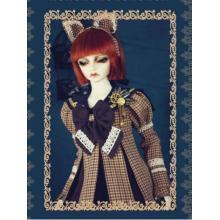 Conjunto de fantasia de boneca de roupas BJD para SD10 / SD13 / SD17 / SD16