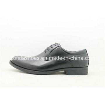 Mais recente, sapatos de couro confortáveis em pele masculina