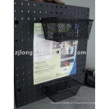 Завод поставщик бесплатный образец металлической сетки офиса декоративные документе отобразить корзину