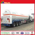 Low Temperature Liquefied Oxygen Nitrogen Argon Gas Tank Semi Trailer
