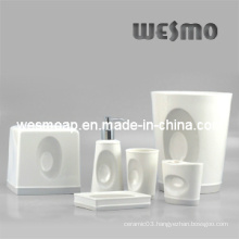 Porcelain Bath Accessories Set (WBC0406A)