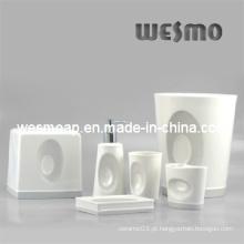 Conjunto de acessórios de banho de porcelana (WBC0406A)