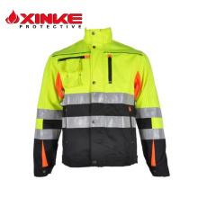 Chalecos de seguridad de alto brillo Class2 Ce En471 Ansi reflectantes de seguridad Clothings