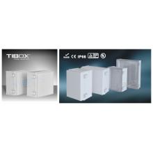 Пластиковый корпус Tibox 2015 серии MG (пластиковая защелка+петли Тип)