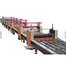 Ligne de production de panneau de mur d'oxyde de magnésium