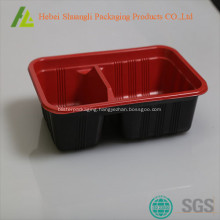 Disposable food containers with lids