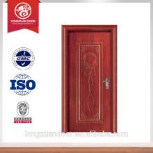 Nouvelle porte de style américain porte en bois stratifié entre porte