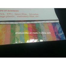 Patrón impreso película del PVC