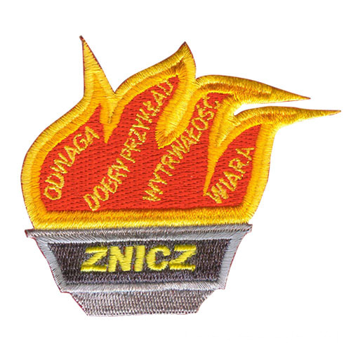 Emblemas de bordado Custom Fire Badges