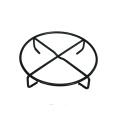 Horno holandés para exteriores de hierro fundido con revestimiento pretensado