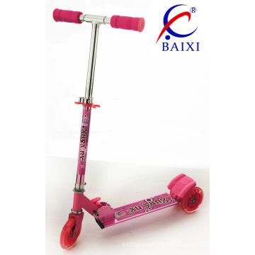 Trottinette pour enfants à 3 roues avec flash (BX-3M002)