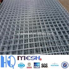 2015 novos produtos 2x2 galvanizado malha de arame soldado para painel de cerca