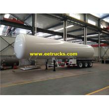 60000 Liters LPG Gas Semi Trailers