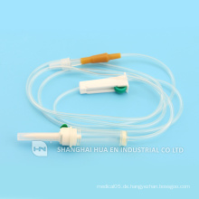 Hergestellt in China CE FDA ISO Genehmigte medizinische sterile Infusionsset