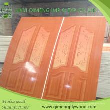 Contreplaqué brillant de peau de porte de HPL 915X2135X2.7mm pour le marché de l'Indonésie