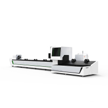 mild steel tube 1000w laser cutting machine / fiber lazer metal cutter