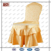 Polyester de mode populaire Polyester personnalisé Spandex Cheap Wedding Chair Covers