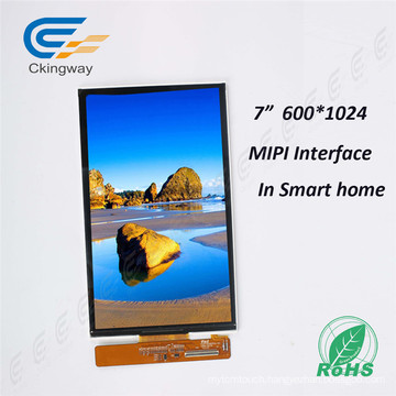 Update Brightness 800nit 7 Inch Mipi Interface TFT Display