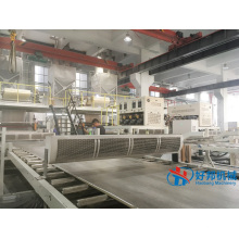 SPC FLOOR MACHINE PLATE PRODUCTION LINE