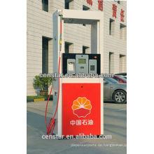 Einzelne hohe Schlauch stehen allein CNG Dispenser