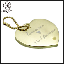 Ball chain Heart bag charm for charm bracelets
