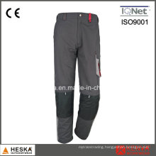 Good Design Men Work Pants with Knee Pad Safety Workwear