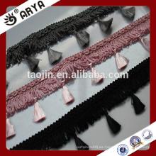 Franja atractiva del ajuste de la borla para la cortina