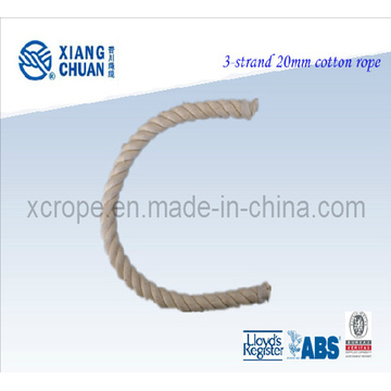 CCS Approved 3 Strands Cotton Rope