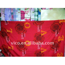 100%polyester printed fabrics