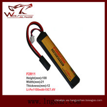 Firefox 1100mAh 7.4V Lipo Li-Po batería de Airsoft de Li-Polymer 15 c
