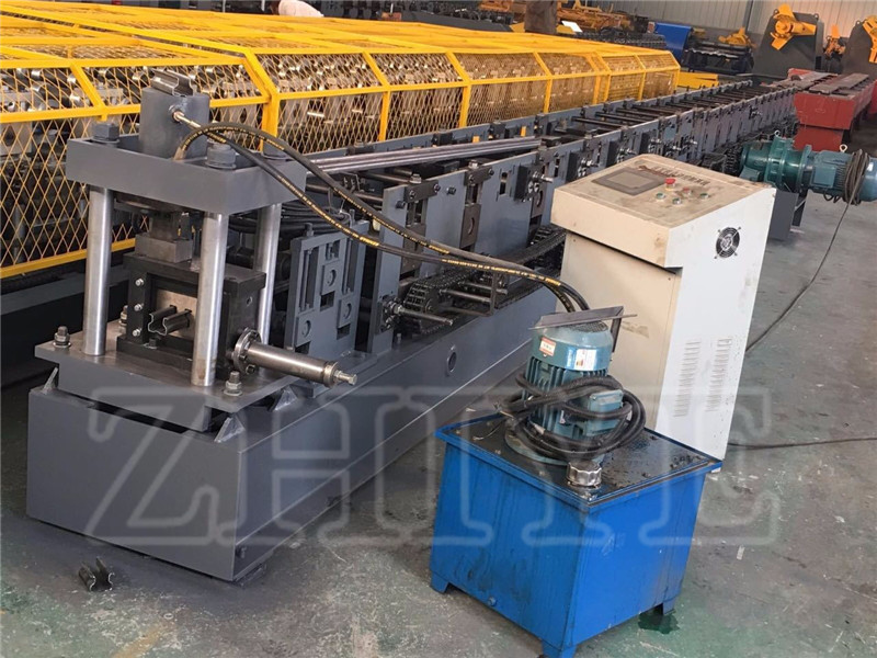 Rak Supermarket Storage Rack Roll Forming Machine